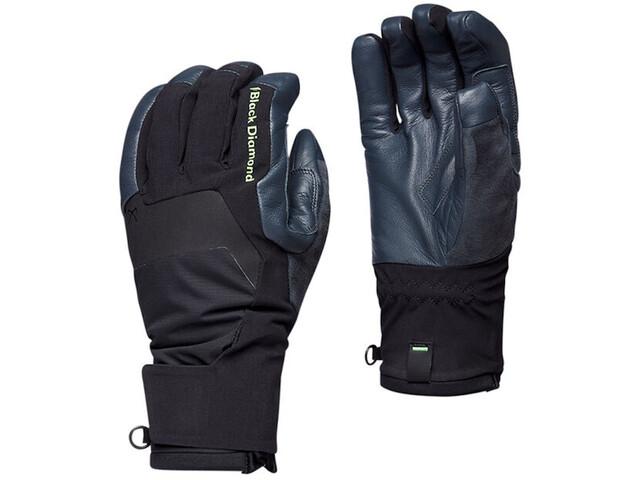 Black Diamond Punisher Gloves, negro/azul